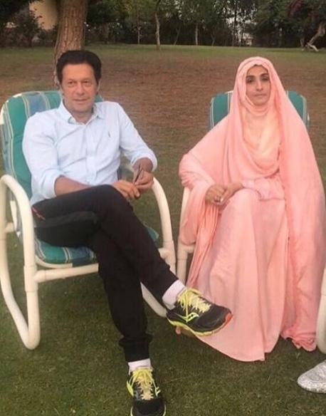 Imran khan and 3rd wife pic