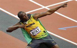 Athlete Usain Bolt