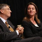 bill gates with wife